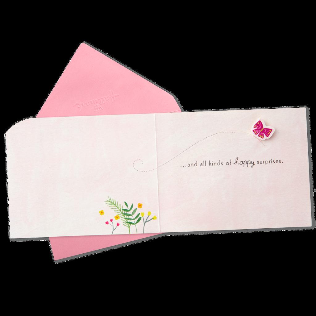 Happy Surprises Cake Mini Pop Up Birthday Card Greeting Cards