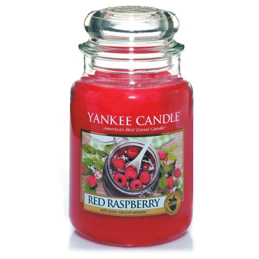 Red Raspberry Large Jar Candle By Yankee CandleR