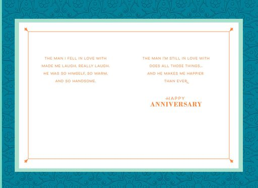Lovebirds Anniversary Card for Husband,