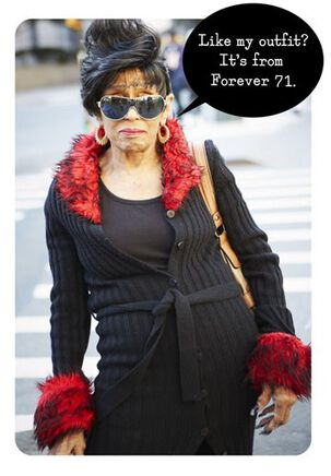 Forever 71 Funny Birthday Card