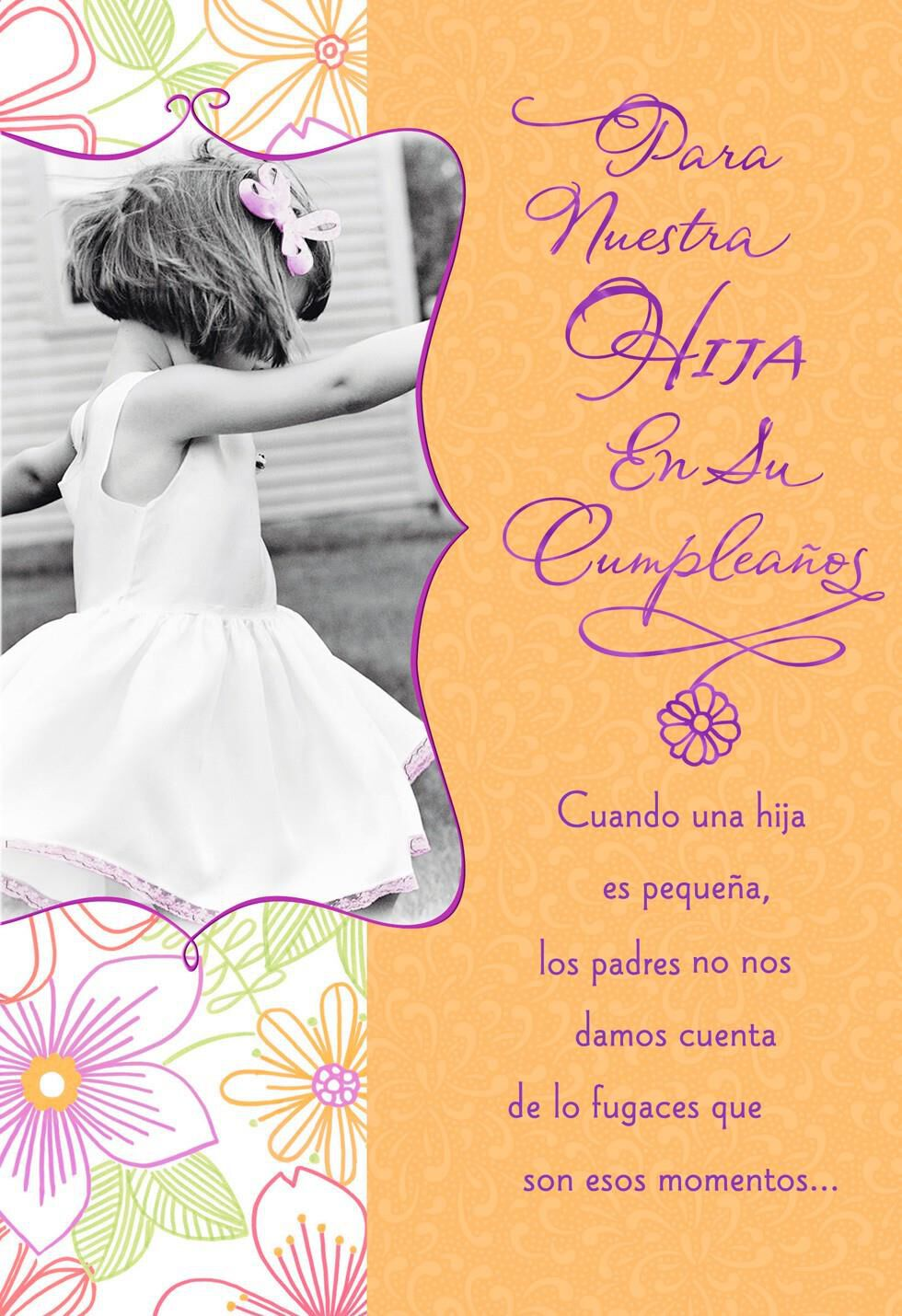 Young Girl To Woman Birthday Card For Adult Daughter Greeting
