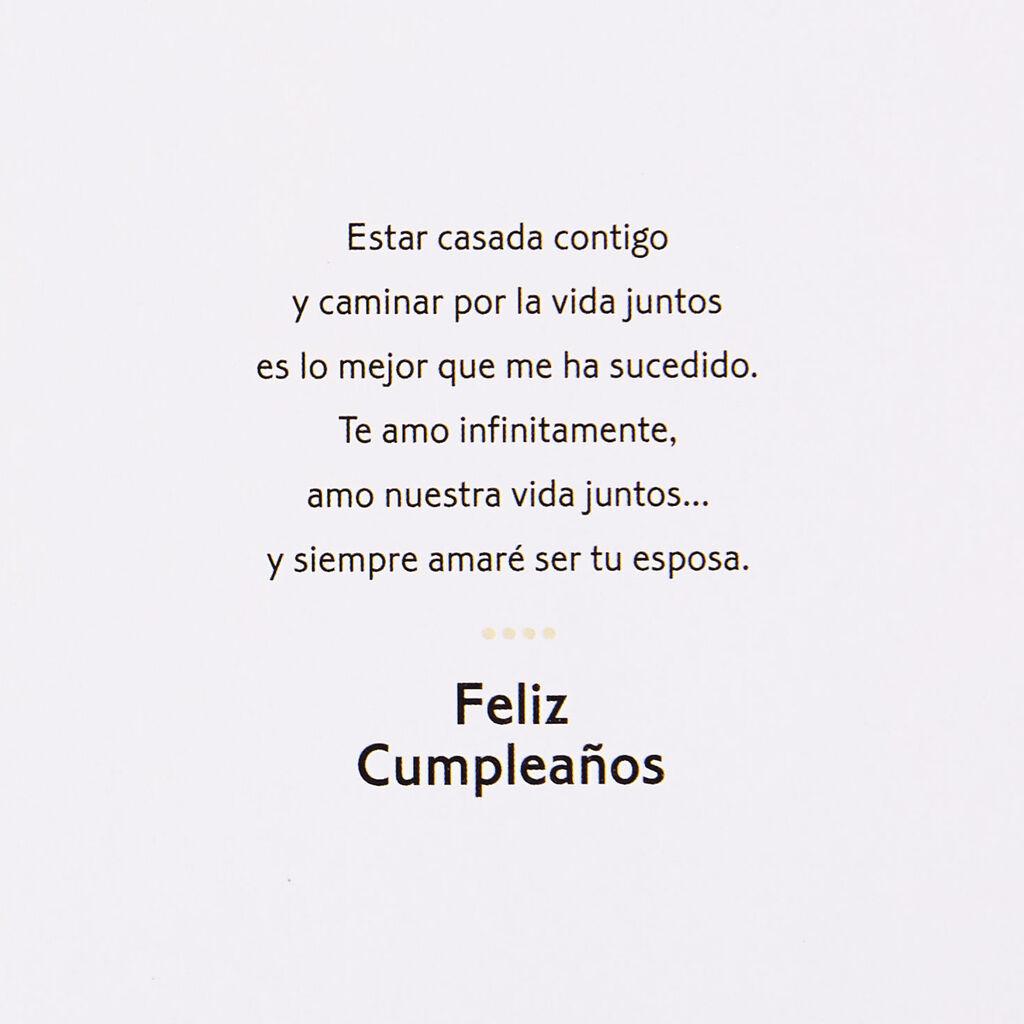 For My Husband, Love of My Life Spanish-Language Birthday Card