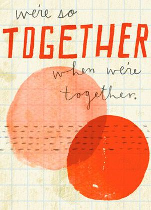 So Together Blank Card