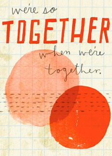 So Together Blank Card,