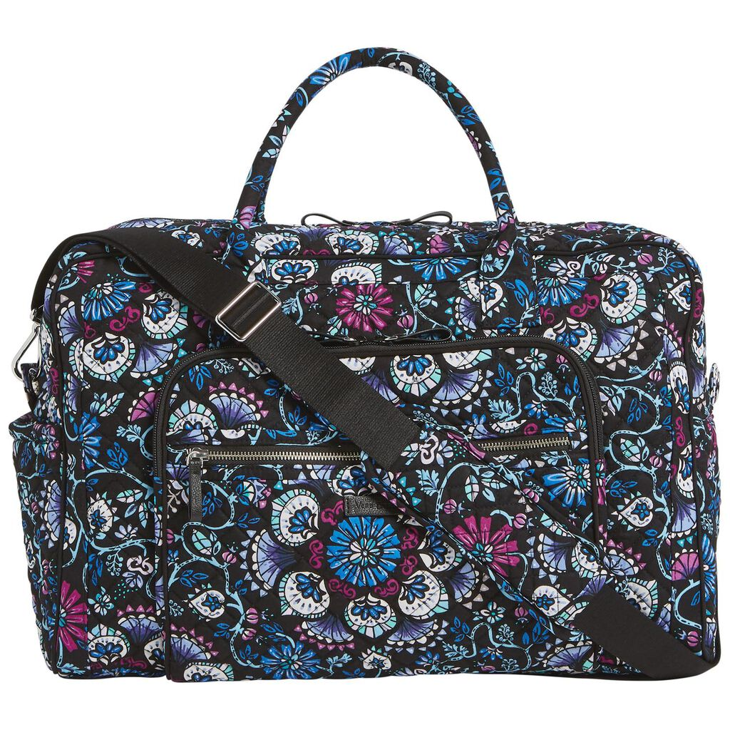 Vera Bradley Iconic Weekender Travel Bag in Bramble - Travel - Hallmark 91bc910c52d36