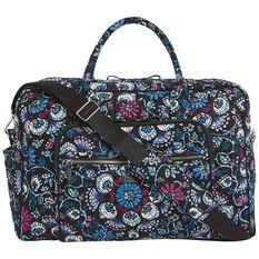 Vera Bradley Iconic Weekender Travel Bag in Bramble - Travel - Hallmark adf1013c81