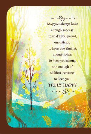 Landscape Scene Mazel Tov Congratulations Card