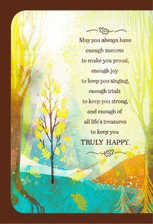 Landscape Scene Mazel Tov Congratulations Card,