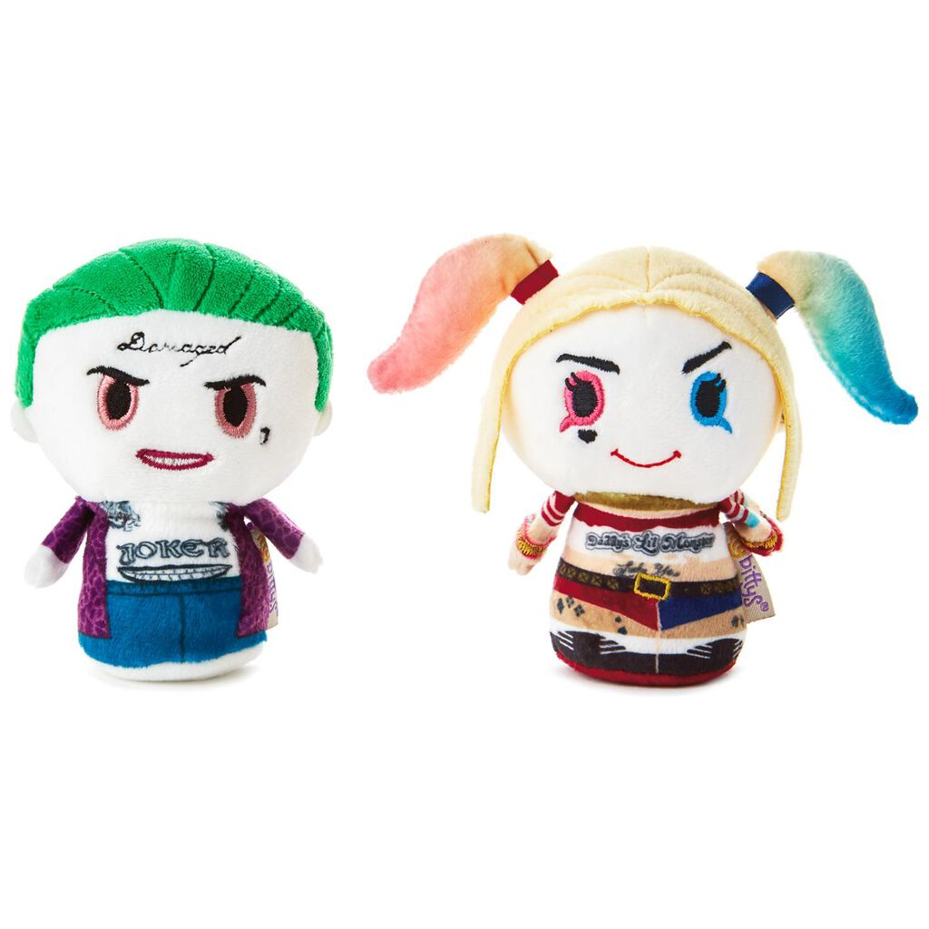 Itty Bittys Suicide Squad The Joker And Harley Quinn Stuffed