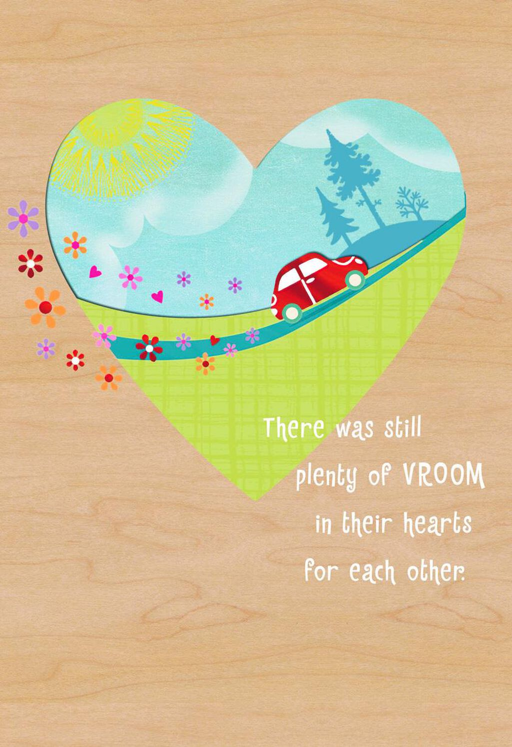 On The Road To Forever Anniversary Card Greeting Cards Hallmark