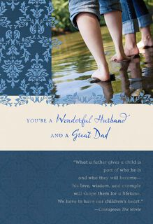 Blessed to Have You Religious Father's Day Card For Husband,