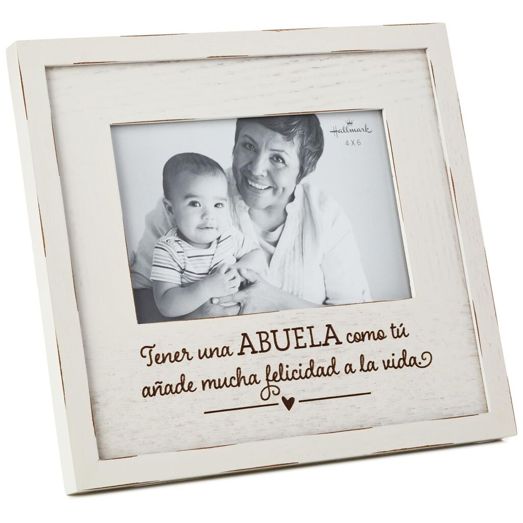 Abuela Wood Picture Frame, 4x6 - Picture Frames - Hallmark