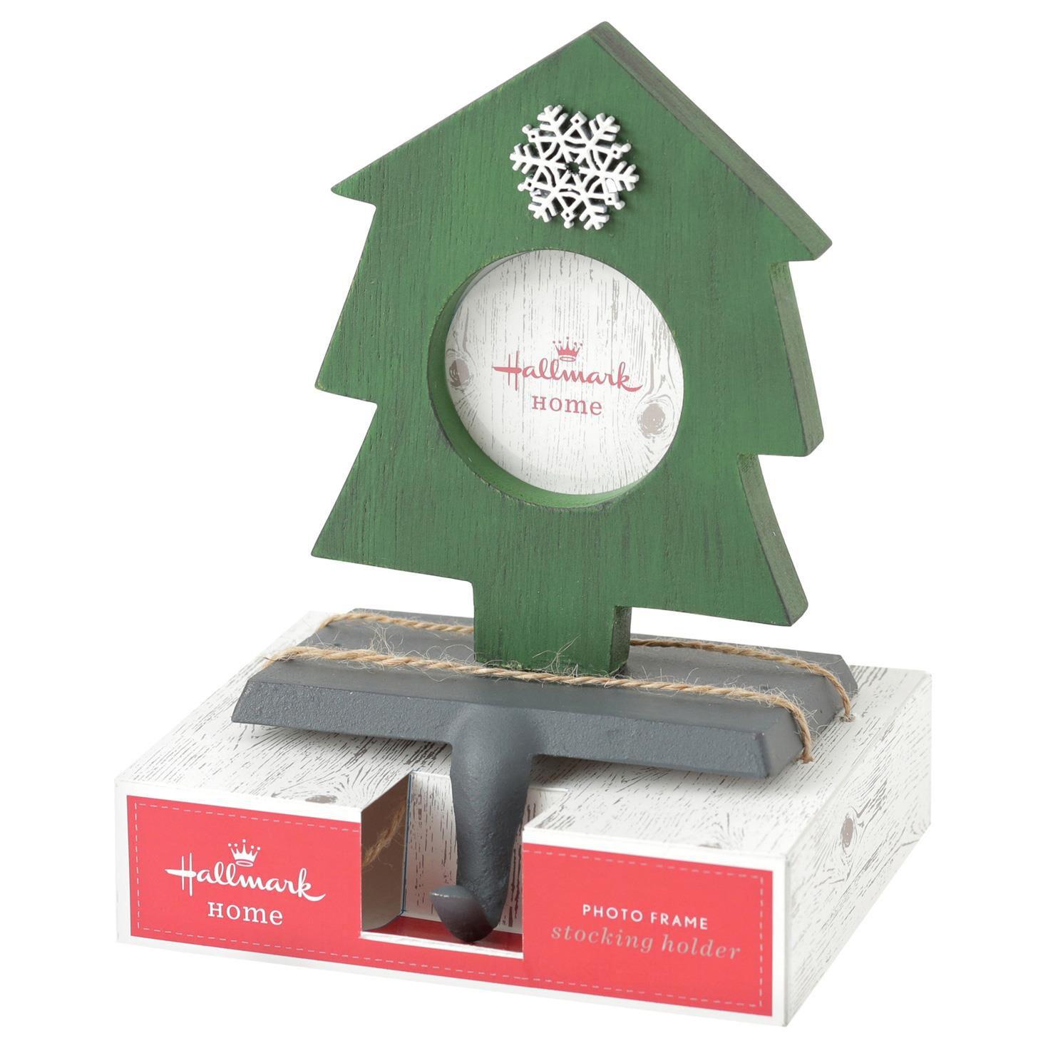 Christmas Tree Stocking Holder.Christmas Tree Photo Frame Stocking Holder