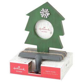 Christmas Tree Photo Frame Stocking Holder, , large