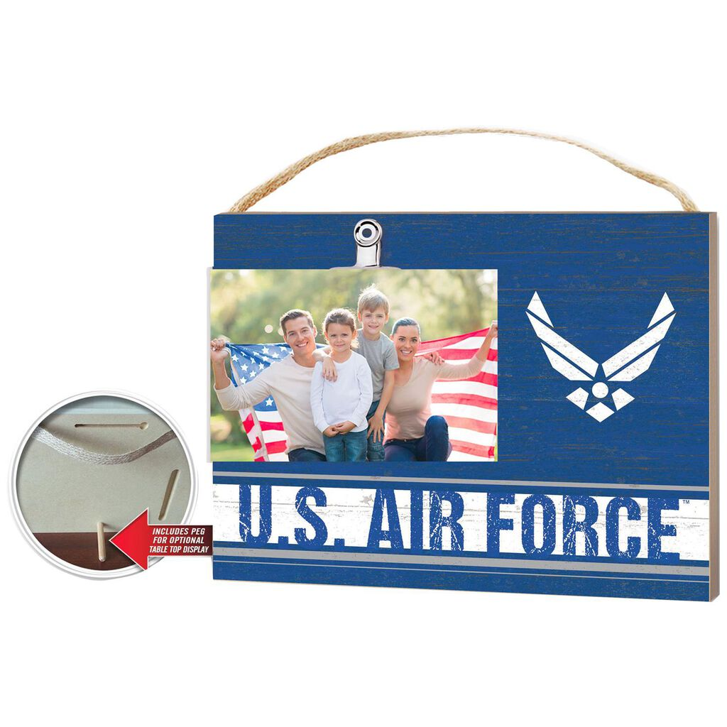 Us Air Force Picture Frame Wood Sign 8x10 Picture Frames Hallmark
