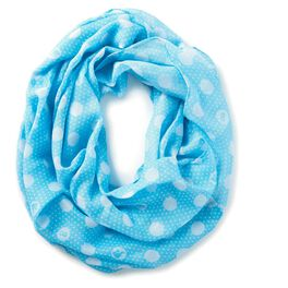 Barbie™ Blue With White Dots Infinity Scarf, , large