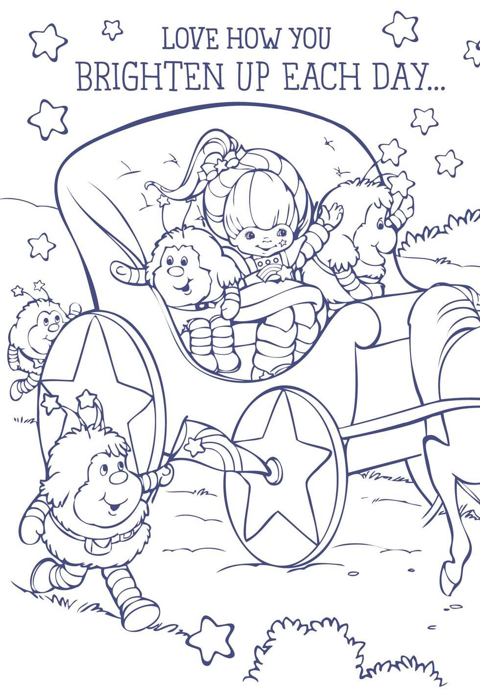 Rainbow brite characters coloring pages - Rainbow Brite Characters Coloring Pages 16