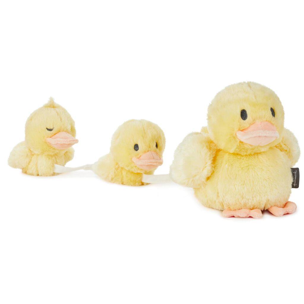 Mama And Baby Ducks Musical Stuffed Animals Set Of 3 Interactive