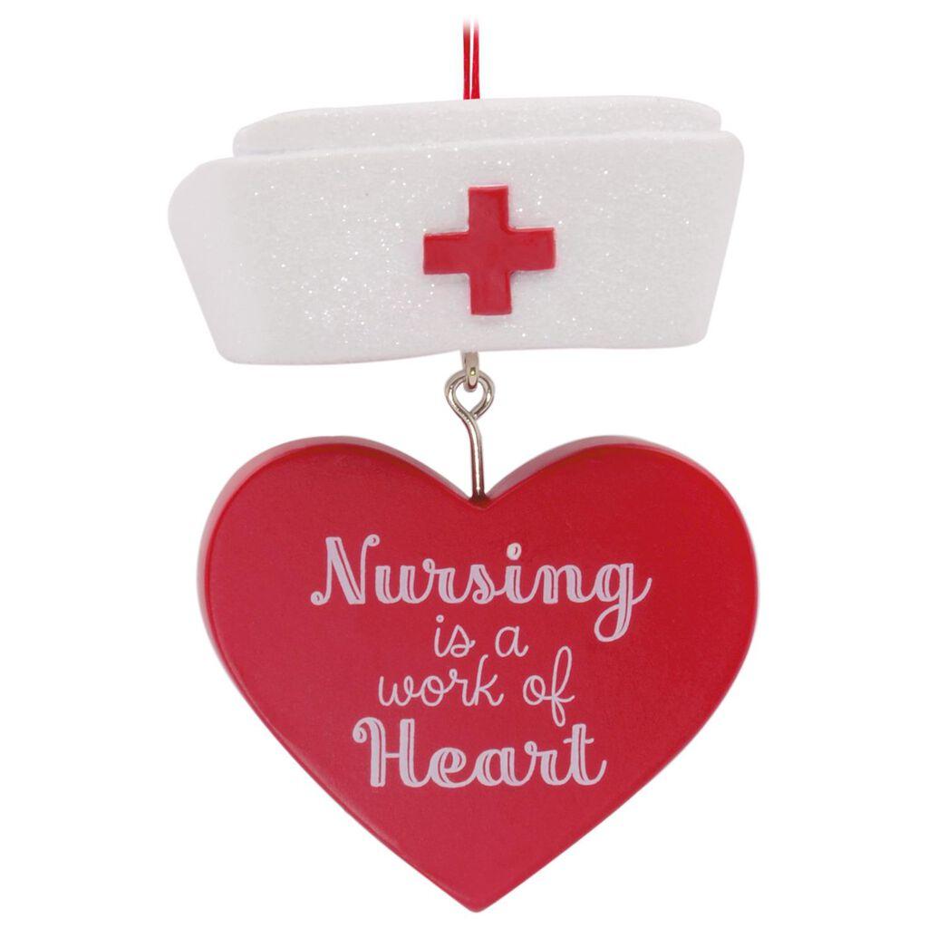 Nurse's Hat Hallmark Ornament - Gift Ornaments - Hallmark