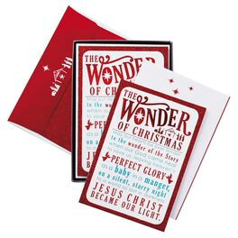 Tender Hearts Christmas Cards, Box of 16, , large