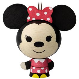 Minnie Mouse Wood Ornament, , large