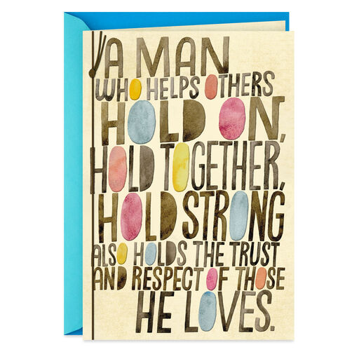 You Hold Us Together Fathers Day Card From Wife