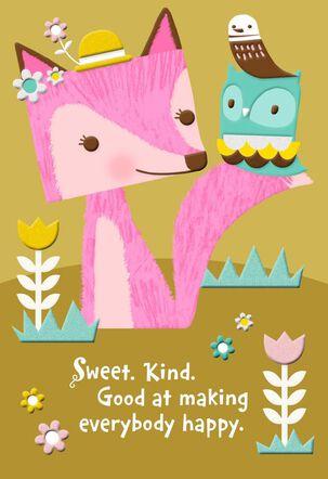 Wonderful Woodland Wishes Birthday Card for Great-Grandma