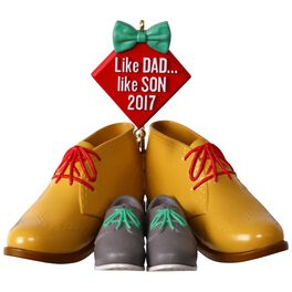 Dress Shoes Like Dad, Like Son Ornament, , large