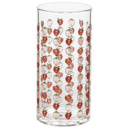 Strawberry Glass Tumbler, 15.5 oz., , large