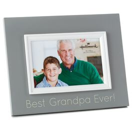 Best Grandpa Ever Wood Photo Frame, 4x6, , large