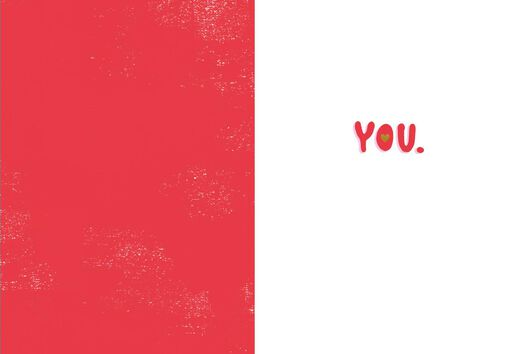 Love You Valentine's Day Card,