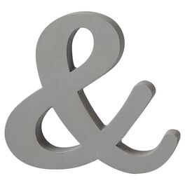 "Ampersand ""&"" Cutout Sign Decor, , large"