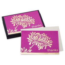 Hot Pink Mum Thank You Notes, Pack of 10, , large