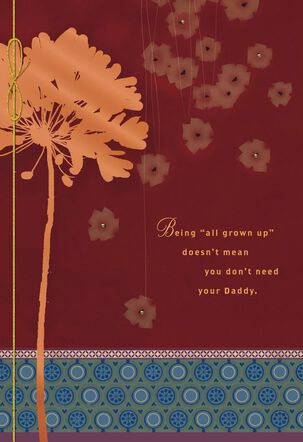 I'll Always Love You Birthday Card for Daddy