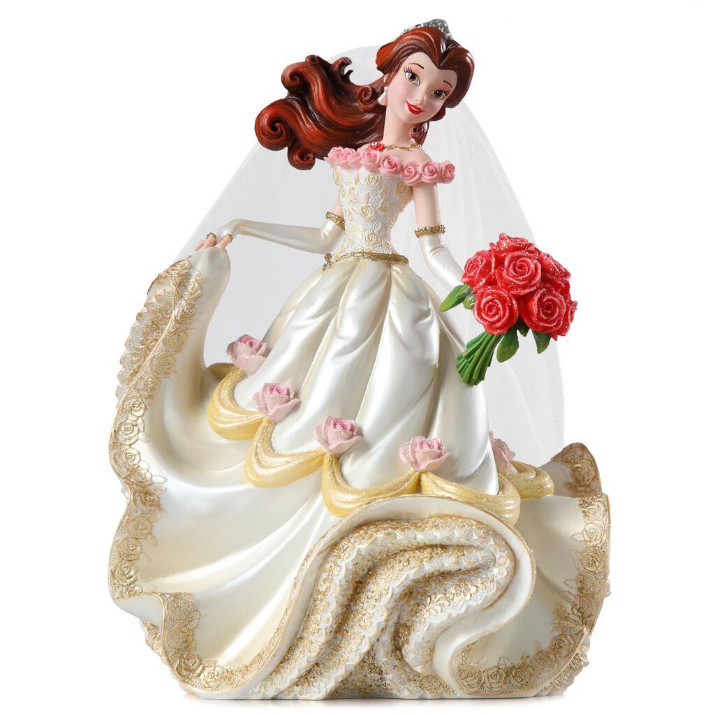 Disney Beauty and the Beast Belle Bride Couture de Force Figurine ...