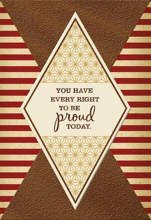 Be Proud Today Veterans Day Card
