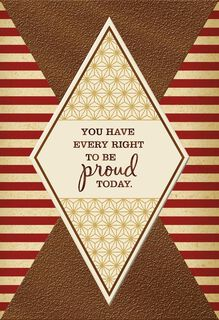Be Proud Today Veterans Day Card,
