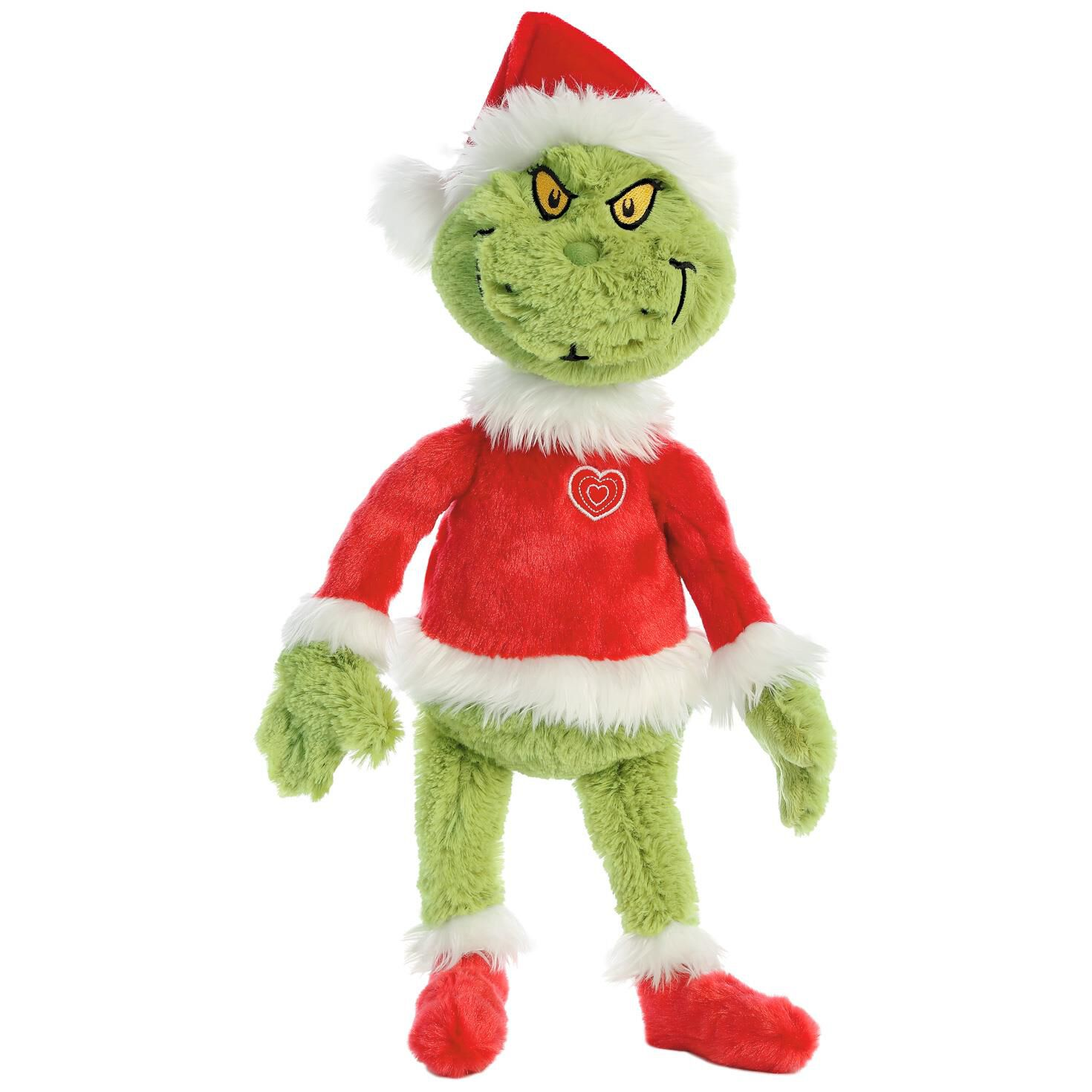 How the Grinch Stole Christmas Grinch Santa Stuffed Animal, 19 ...