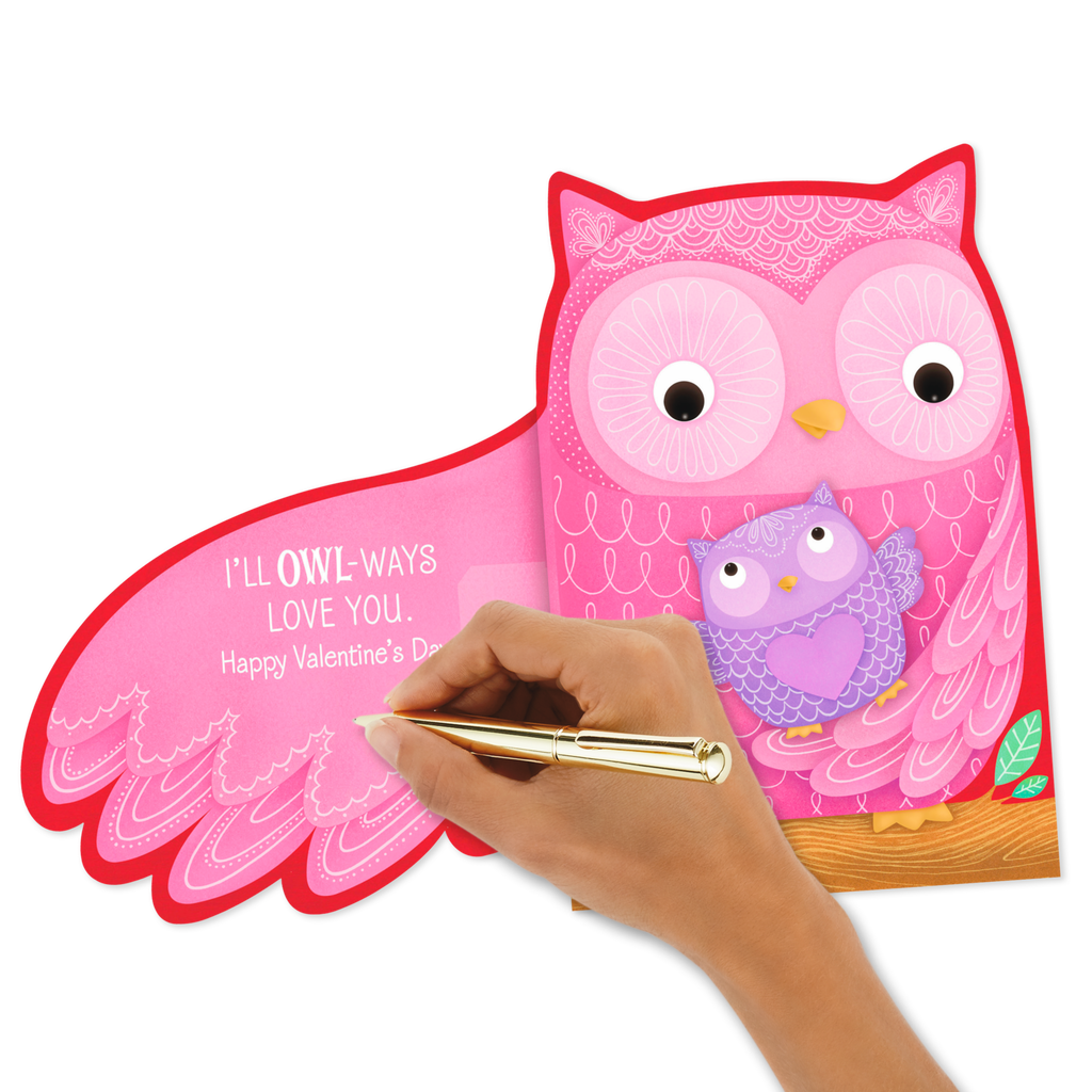 Owl Ways Love You Valentine S Day Card Greeting Cards Hallmark