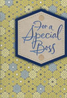 You Know How to Lead Boss's Day Card,