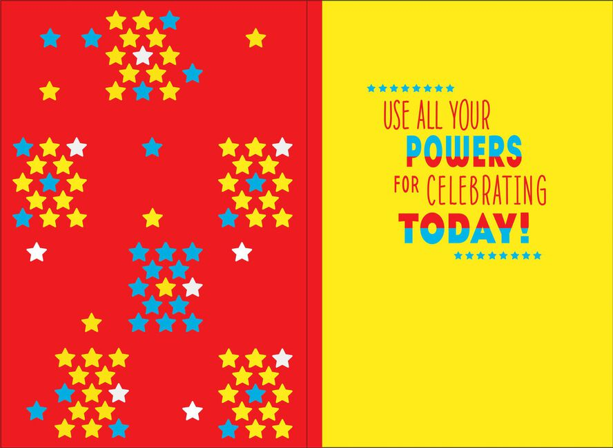 Wonder Woman Celebrate Today Musical Birthday Card Greeting Cards