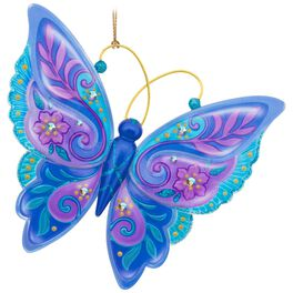 Brilliant Butterflies Ornament, , large