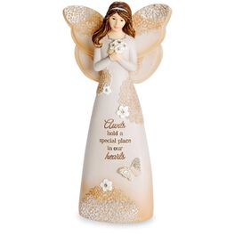 Light Your Way Every Day Aunt Angel Figurine, , large