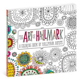 The Art of Hallmark Coloring Book for Adults, , large