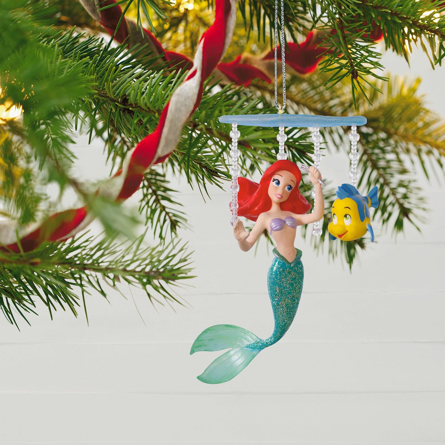 Disney The Little Mermaid Ariel's World Ornament - Keepsake ...