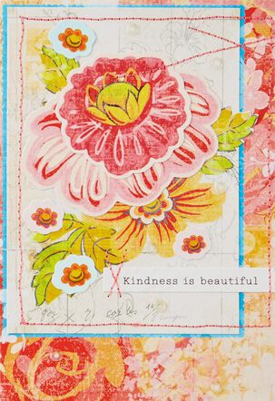 Kindness Is Beautiful Thank You Card