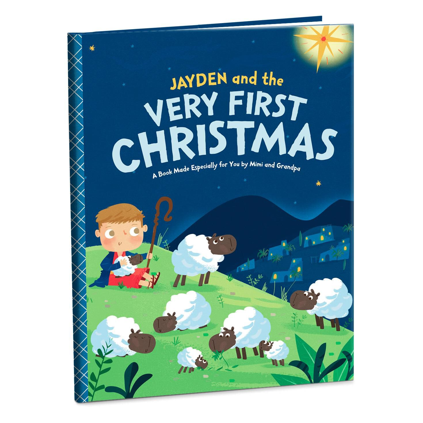 Co coloring book shop - Very First Christmas Personalized Book Large