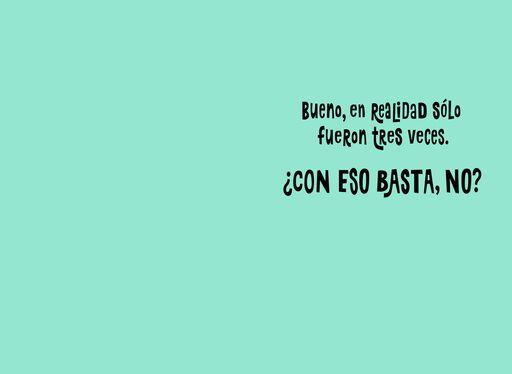 Happy Cat Funny Spanish-Language Thank You Card,