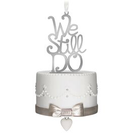 We Still Do Anniversary Ornament, , large