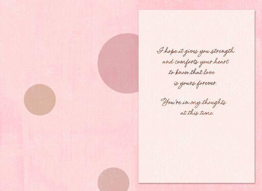 Roses and Dots Sympathy Card,